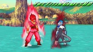 getlinkyoutube.com-Dragon Ball Z Shin Budokai 2 - Fukkatsu No F - Goku Super Kaioken Vs Ize