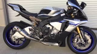 getlinkyoutube.com-2015 Yamaha R1M with Austin Racing decat exhaust