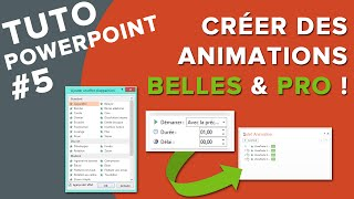 getlinkyoutube.com-Tuto PowerPoint #5 - Comment Créer de belles Animations pro ? + BONUS !