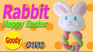 getlinkyoutube.com-Rabit Balloon  |  Happy Easter  🐰  うさぎを作ろう!【かねさんのバルーンアート】