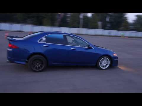 Чемпионат по Автослалому ТО. 4 Этап. Acura TSX