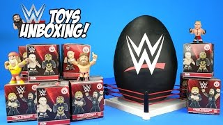 getlinkyoutube.com-WWE Toys Unboxing + Hot Wheels Cars & Superhero Play-Doh Surprise Egg with WWE Wrestling Toys