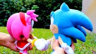 getlinkyoutube.com-Sonic Plush: SonAmy