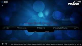 getlinkyoutube.com-www.Best-Greek.TV - Οδηγίες εγκατάστασης των καναλιών στο XBMC