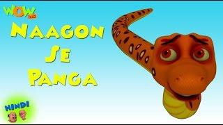 Naagon Se Panga   Motu Patlu In Hindi WITH ENGLISH, SPANISH & FRENCH SUBTITLES