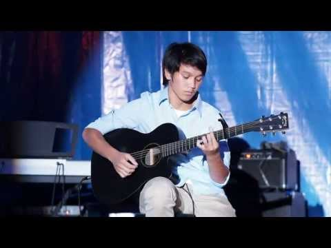 Raphael Pesik performance in Raffles International Christian School Music Festival