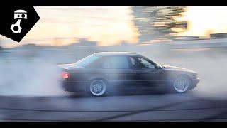 getlinkyoutube.com-BMW 740i мкпп (E38) Тест-драйв; zhmuraTV