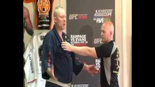 getlinkyoutube.com-Martial Arts Pressure Point Takedown. For Use in Street Fights, Self Defense Or Kung Fu
