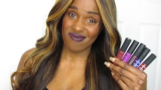 *NEW* NYX SOFT MATTE LIP CREAMS | 12 NEW SHADES! | NEW FORMULA? | 1ST IMPRESSION + FULL SWATCHES!