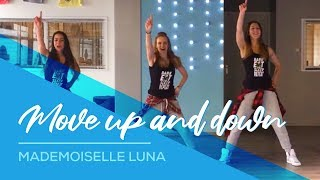 getlinkyoutube.com-Move Up & Down - Mademoiselle Luna - Easy Fitness Dance Choreo Zumba