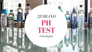 Alkaline or Acidic? 28 Bottled Water pH Test. Don't Buy Another Bottled Water Until You Watch This!
