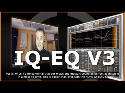 HOFA-Plugins | Intelligente Audio-Plugins mit einzigartigen Funktionen - IQ-EQ V3