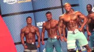 getlinkyoutube.com-Trình diễn Mr Olympia Men's Physique 2015 | Fitness | JEREMY BUENDIA,