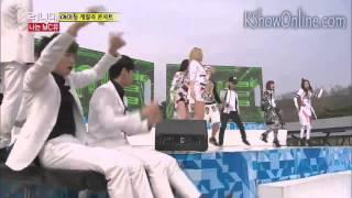 getlinkyoutube.com-[ENGSUB] 2NE1, Gary and KJK Opening Dance | Running Man Ep 195
