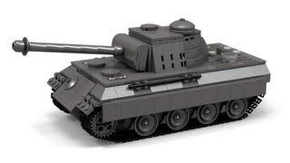 getlinkyoutube.com-Lego WWII Panther tank Instructions