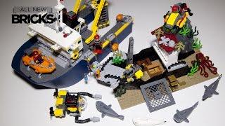 Lego City 60095 Deep Sea Exploration Vessel Speed Build