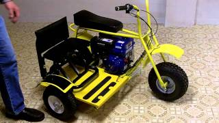 Mini Bike Baja Doodle Bug Side Car for the Do it Yourself Average Home Handyman