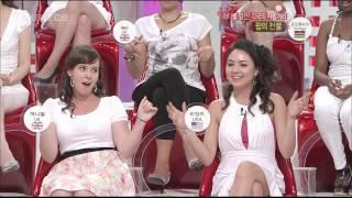 getlinkyoutube.com-김정민 에나벨 - 다리꼬다가 긴치마속 팬티 노출