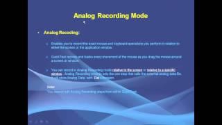 getlinkyoutube.com-QTP Recording Modes 1 - Normal and Analog
