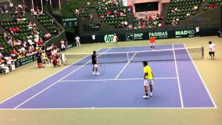 getlinkyoutube.com-ソフトテニスVS硬式テニス(Softtennis VS Tennis)