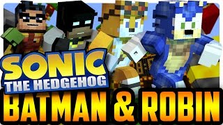 Minecraft: Racing Sonic the Hedgehog (Minecraft Roleplay) Sonic Minecraft Mod