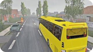 BUS Trip ETS2 (Euro Truck Simulator 2)
