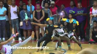 Dancing Dolls vs Prancing Tigerettes vs Divas (Round 1&2)