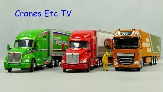 getlinkyoutube.com-Peterbilt, Kenworth, DAF - Paccar Brand Box by Cranes Etc TV