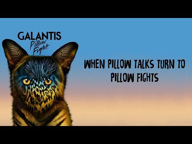 PILLOW FIGHT - GALANTIS karaoke version ( no vocal ) lyric instrumental