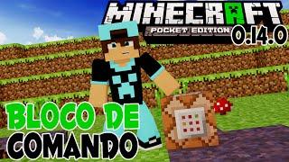 Mod do Bloco de Comandos!! Minecraft PE 0.14.0   Command Block Mod