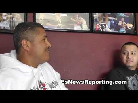 robert garcia on mikey vs juanma lopez
