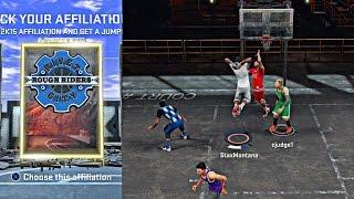 getlinkyoutube.com-NBA 2k16 My Park - I'm Switching To Rivet !