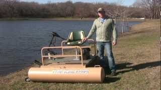 getlinkyoutube.com-The Best Mini Pontoon Boat for Fishing