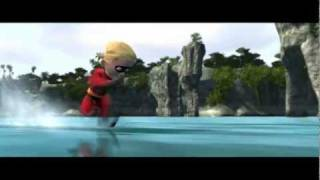 getlinkyoutube.com-The Incredibles - 100 Mile Dash