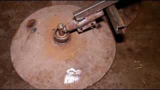 getlinkyoutube.com-Саморобний дисковий окучник для мотоблока