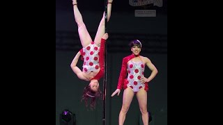 getlinkyoutube.com-Kat Bailey & Danielle Haynes - World Pole Dance Championships - Beijing, China