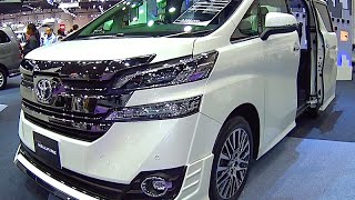 getlinkyoutube.com-Toyota Vellfire 2017, 2016 Video review New Generation, Toyota Luxury VANs