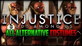 getlinkyoutube.com-Injustice Gods Among Us - All Alternative Costumes/Skins