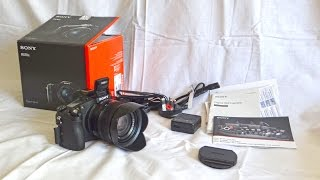 getlinkyoutube.com-Sony RX10 II Unboxing