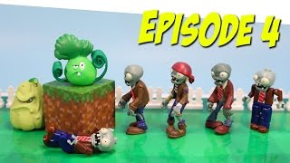getlinkyoutube.com-Plants vs. Zombies Toy Play Episode 4 Bonk Choy's Epic Beat Down