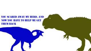 Wrecksy meets Parasaurolophus 67