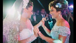 getlinkyoutube.com-بالفيديو لقطات من حفل زفاف شام بنت الفنانة اصالة بحضور مجموعة من الفنانين