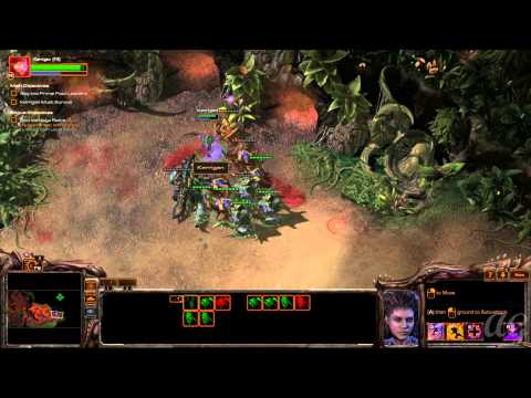 Starcraft 2: Heart of the Swarm - No Commentary Walkthrough 1080p HD Mission 9