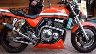 getlinkyoutube.com-ZRX1100 ZRX1200 Kawasaki カスタムバイク
