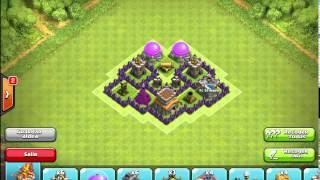 getlinkyoutube.com-Diseño de Aldea Ayuntamiento 5 Clash of Clans