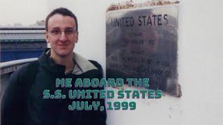 getlinkyoutube.com-Me aboard SS United States, July 3, 1999