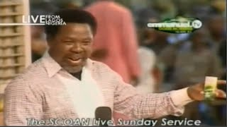 getlinkyoutube.com-SCOAN 18/01/15: WATER THERAPY - THE NATURAL BLESSING, MONEY & TITHES By TB Joshua. Emmanuel TV