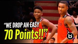 getlinkyoutube.com-Mike Miles & TJ Starks Go Off for 70Pts! Lancaster Guards Couldn't Miss!