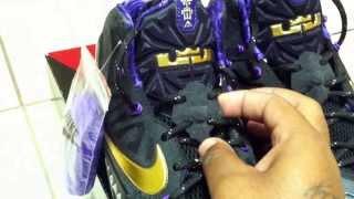 "getlinkyoutube.com-Sneaker review ""Black History"" month Lebron 11's (YouTube) WaveyNY"
