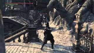 getlinkyoutube.com-フル強化のシモンの弓剣のモーションと試し射ち    ブラッドボーン オールドハンターズ  DLC【Bloodborne: The Old Hunters】
